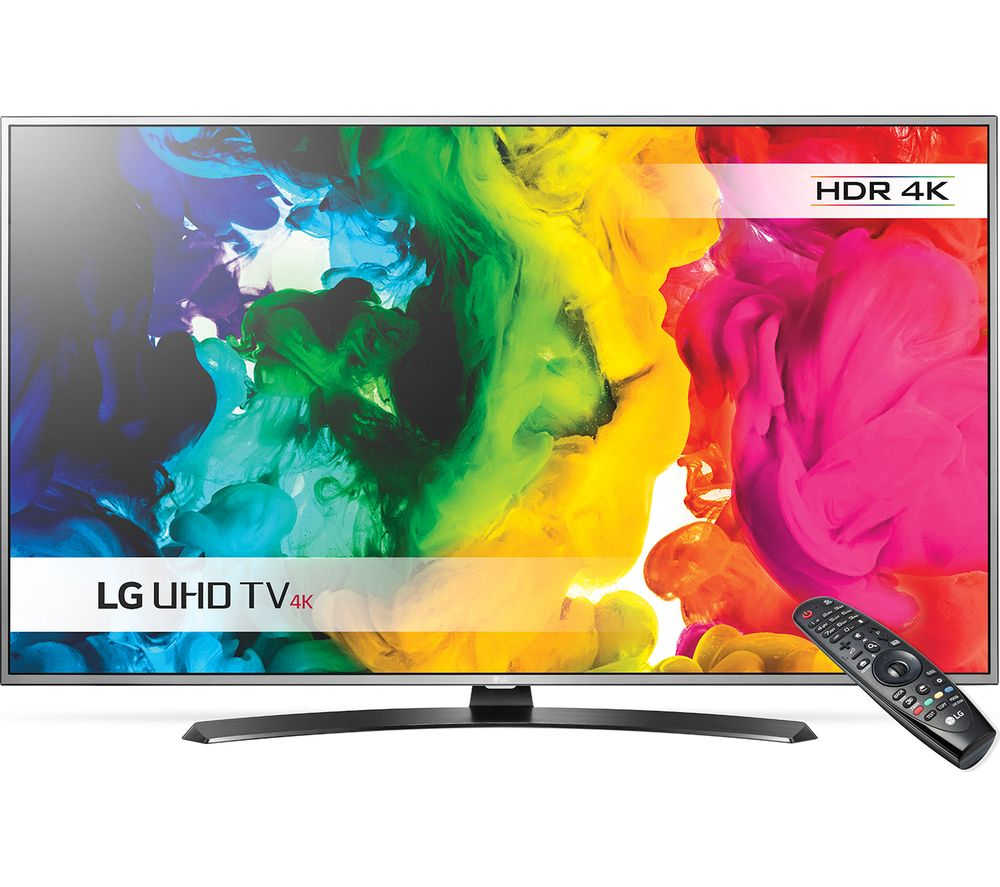 "LG 49UH668V Smart 4k Ultra HD HDR 49"" LED TV"