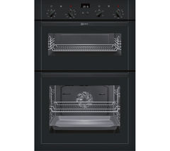 NEFF U14M42S5GB Electric Double Oven - Black