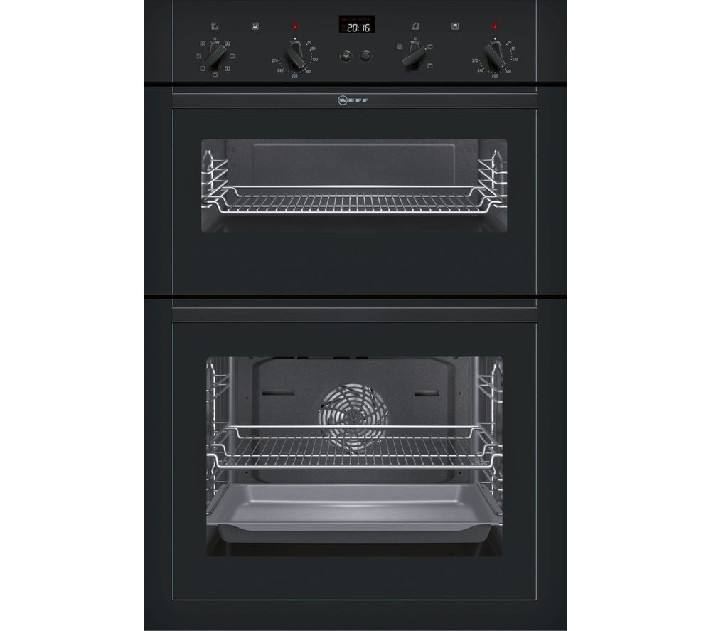Double Ovens Electric ~ Buy neff u m s gb electric double oven black free