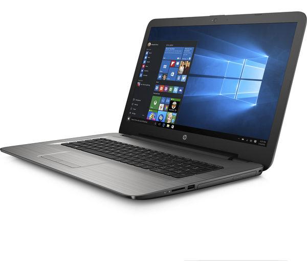 "Image of HP 17-y054sa 17.3"" Laptop - Silver"
