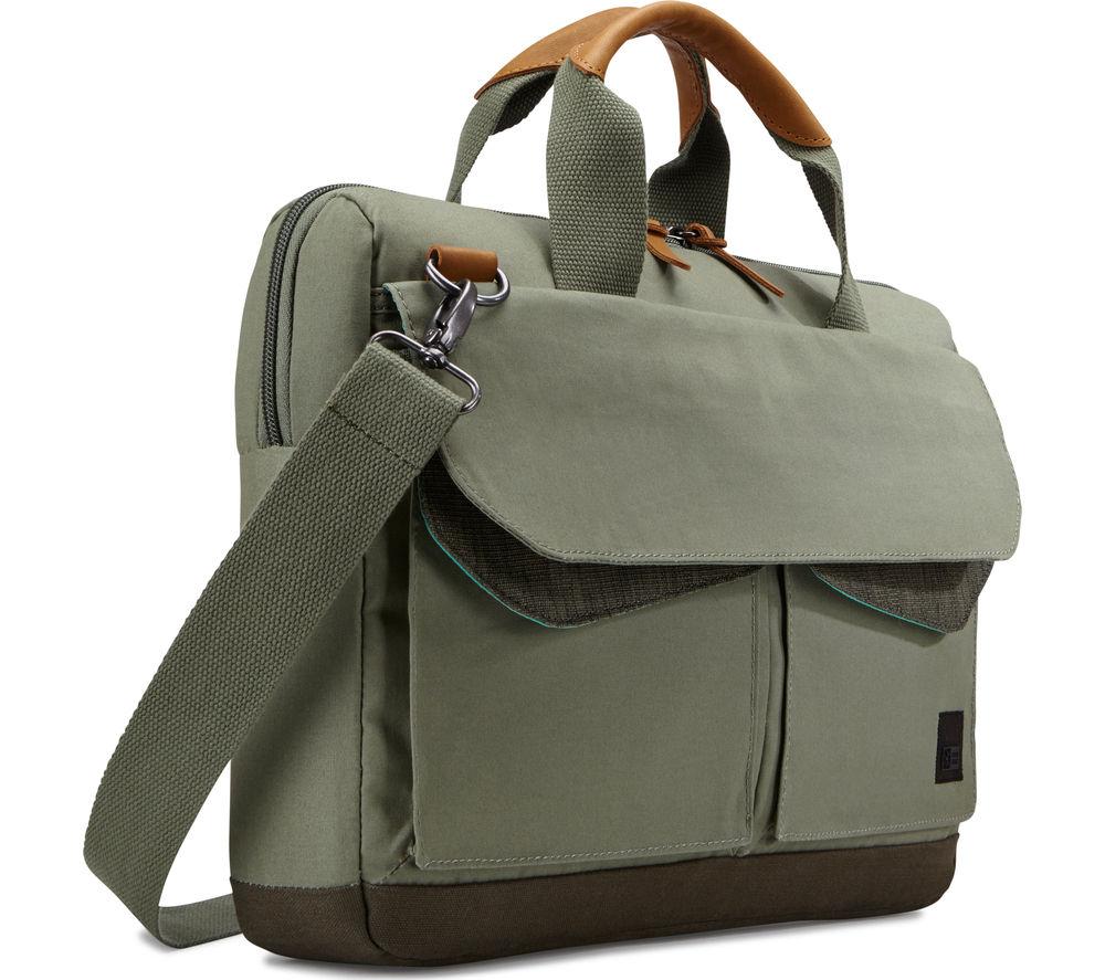 """Image of Case Logic LODO 15.6"""" Laptop Bag - Green"""