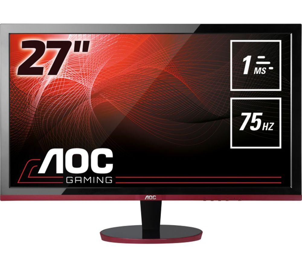 aoc g2778vq full hd 27 led monitor deals pc world. Black Bedroom Furniture Sets. Home Design Ideas