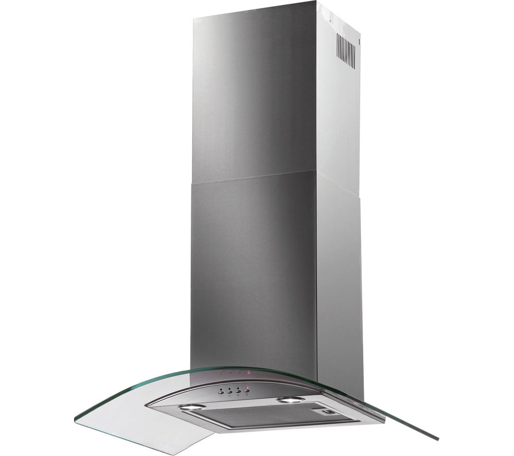 BAUMATIC  BT7.3GL Chimney Cooker Hood  Stainless Steel Stainless Steel