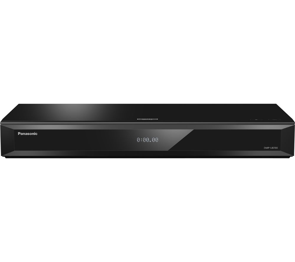 PANASONIC DMP-UB700EBK Smart 4K Ultra HD 3D Blu-ray Player + Ghostbusters UHD (1984)