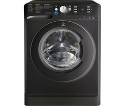 INDESIT XWE 91483XK Washing Machine - Black