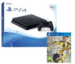 SONY PlayStation 4 Slim & FIFA 17 - 500 GB