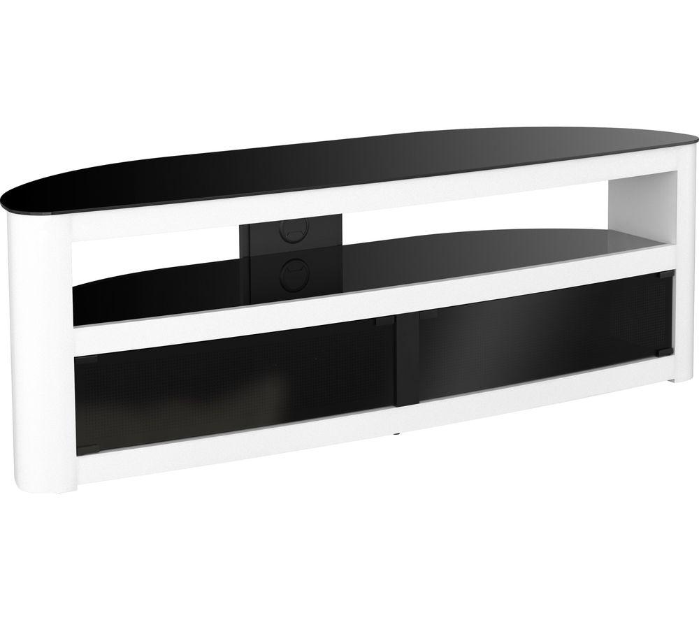 AVF  Burghley 1500 TV Stand  White White