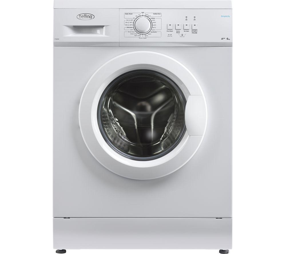 BELLING  BEL FW612 WHI Washing Machine  White White