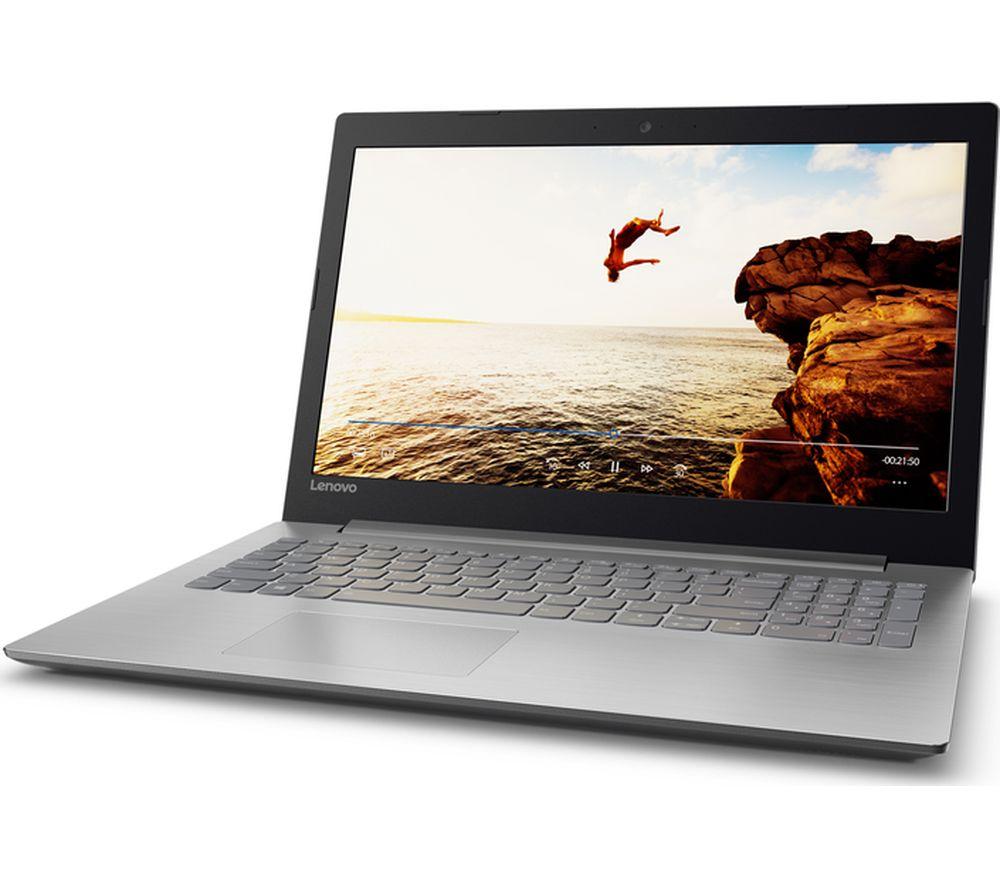 "LENOVO Ideapad 320-15IAP 15.6"" Laptop - Grey + Office 365 Home + LiveSafe Unlimited 2017 - 1 year"