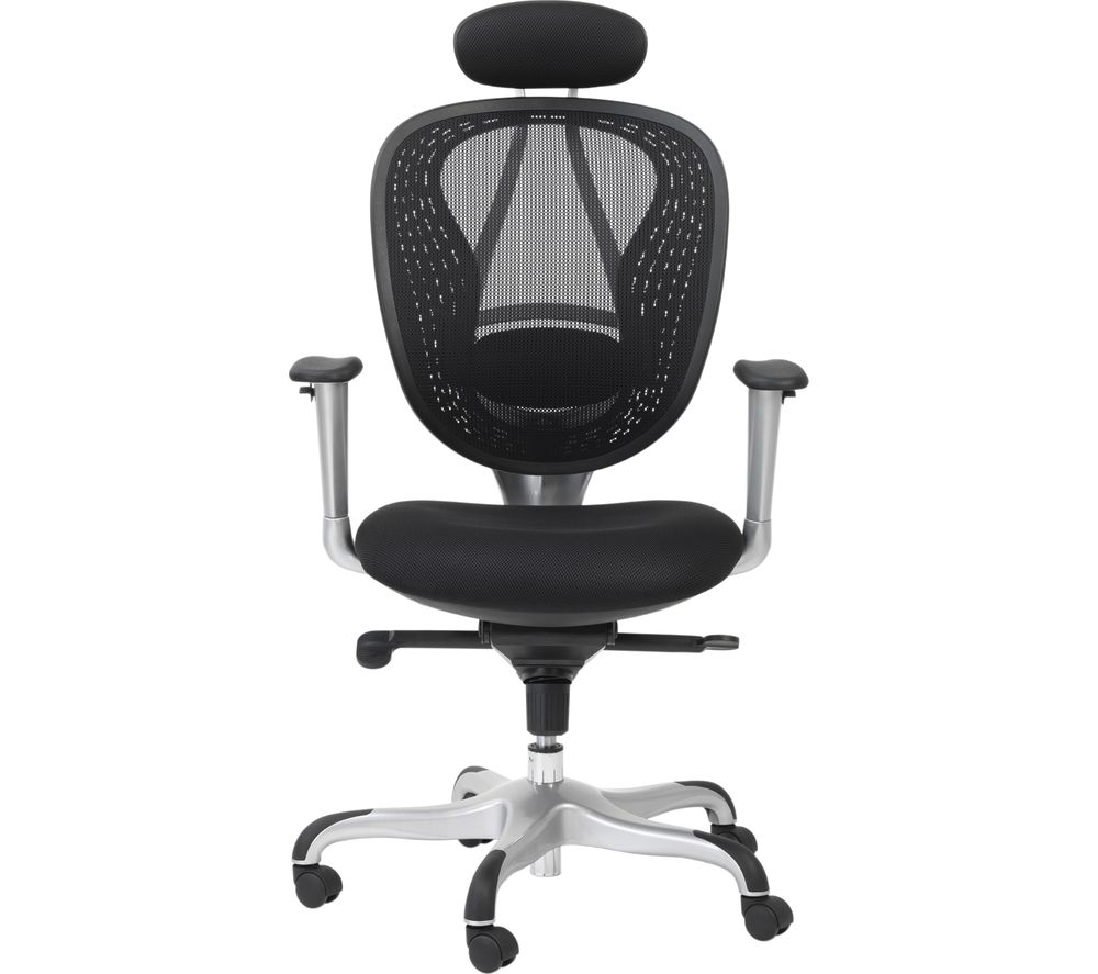 Image of ALPHASON Blade AOC9699-M Mesh Tilting Executive Chair - Black, Black
