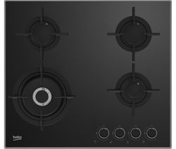 BEKO HCLW64222S Gas Hob - Black