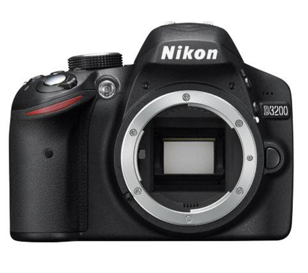 NIKON D3200 DSLR Camera - Body Only