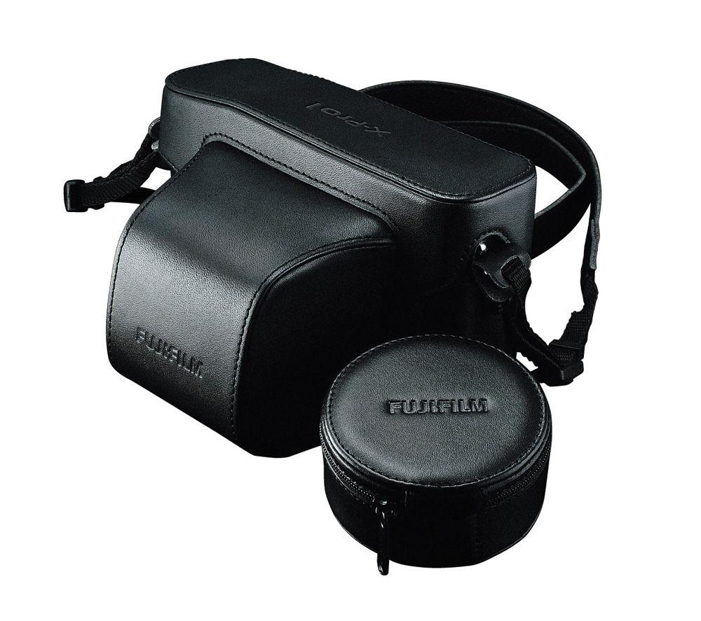 FUJIFILM X-Pro1 Genuine Leather Compact System Camera Case - Black