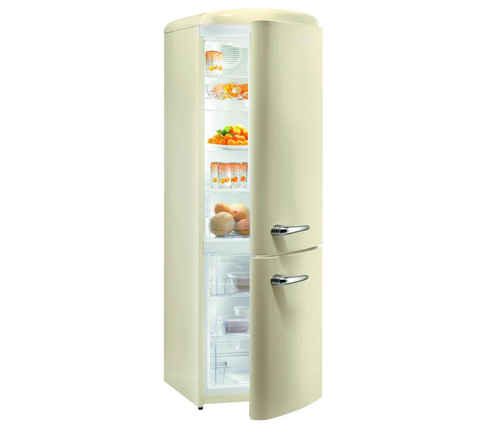 buy gorenje rk60359oc fridge freezer cream free. Black Bedroom Furniture Sets. Home Design Ideas