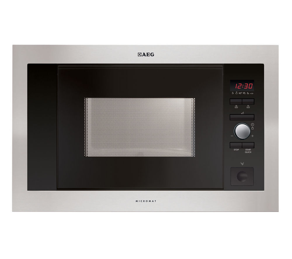 AEG MC1763E-M Built-in Solo Microwave - Stainless Steel