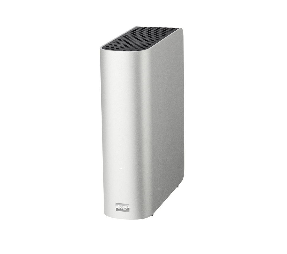 WD My Book Studio External Hard Drive for Mac - 2 TB, Silver