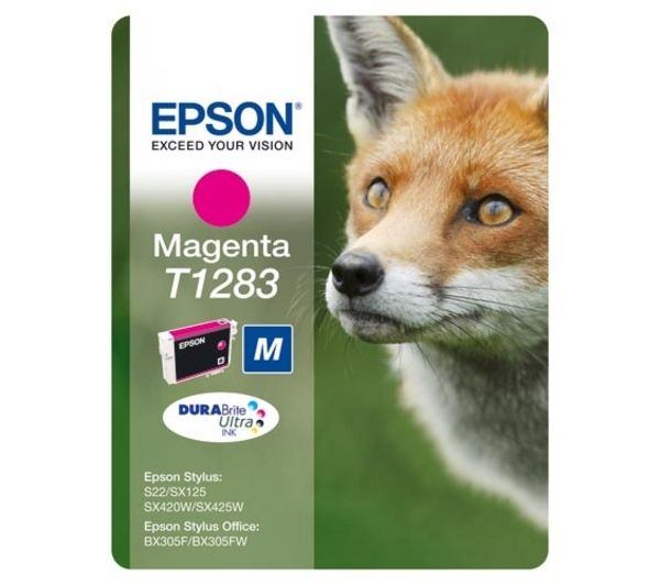 EPSON Fox T1283 Magenta Ink Cartridge