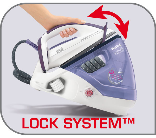 buy tefal express gv7630 compact steam generator iron. Black Bedroom Furniture Sets. Home Design Ideas