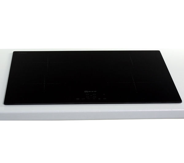 neff t40b30x2 electric induction hob black ebay. Black Bedroom Furniture Sets. Home Design Ideas