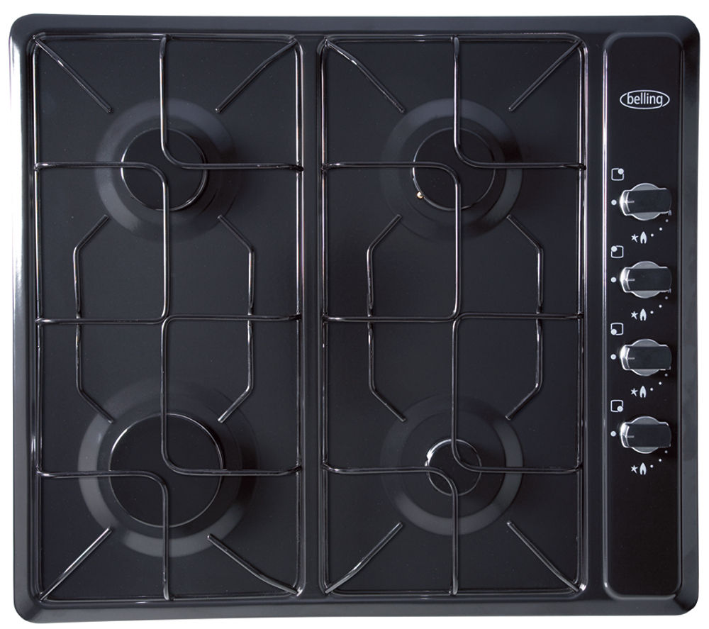 BELLING GHU60GE Gas Hob - Black