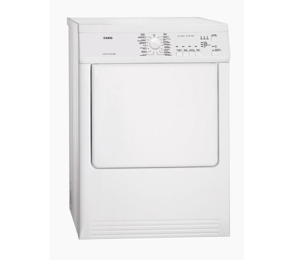 AEG  T65170AV Vented Tumble Dryer  White White