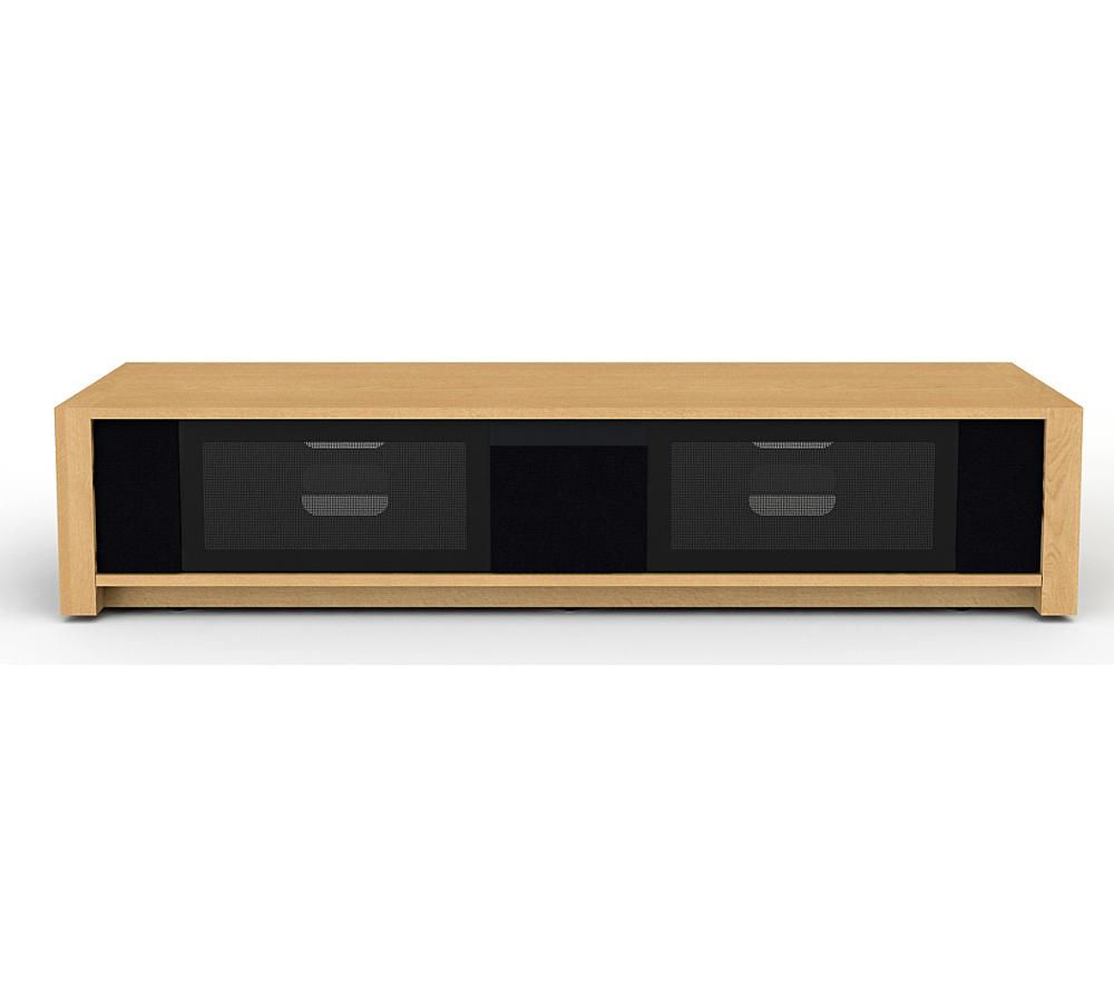 TECHLINK  MSeries 170 TV Stand with Speakers Light oak