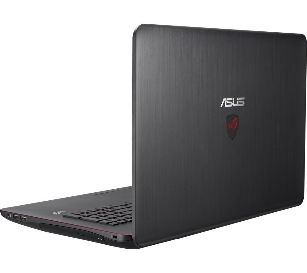 Asus Republic of Gamers G771JM 17.3 Gaming Laptop  BlackRepublic of Gamers G771JM 17.3 Gaming Laptop  Black Black
