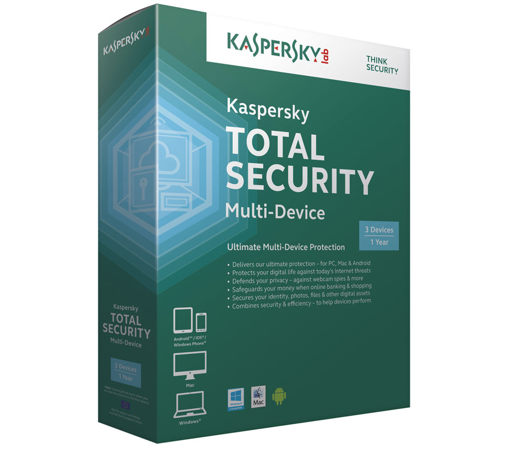 Buy Kaspersky Total Security Multi Device Free Delivery