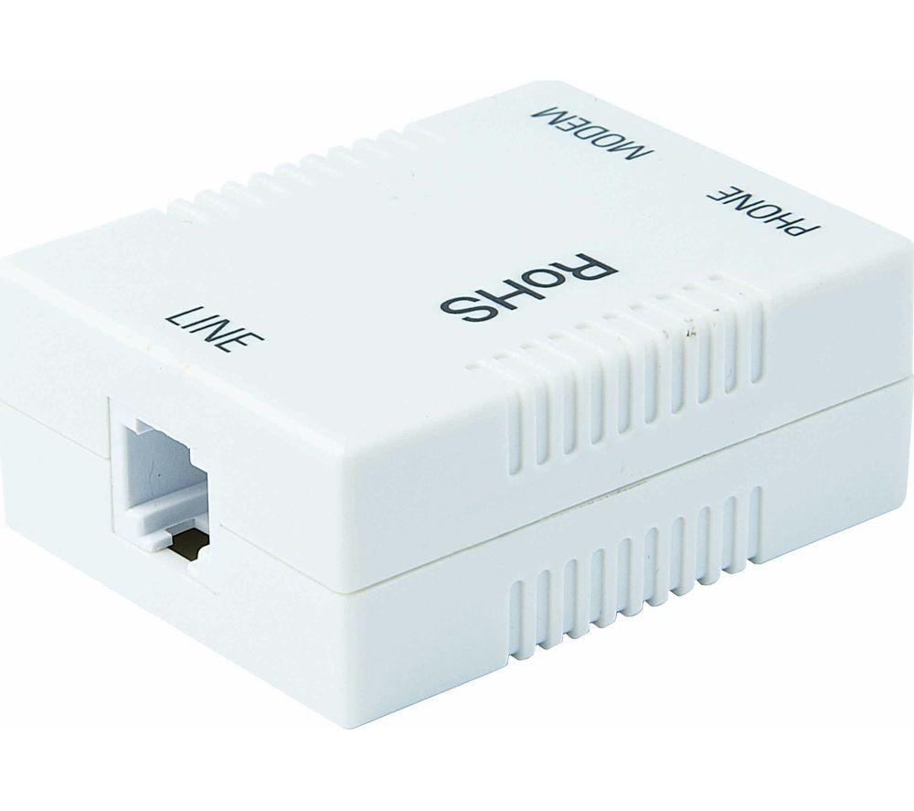 LOGIK LADSLF15 ADSL Broadband Filter