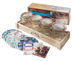 KILNER 31 Piece Clip Top Jar Set
