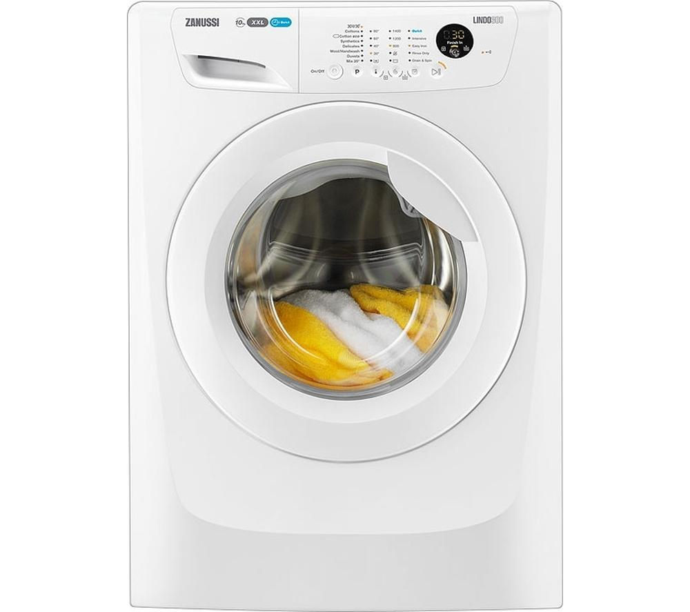 ZANUSSI  ZWF01483W Washing Machine - White +  ZDC8203WR Condenser Tumble Dryer - White