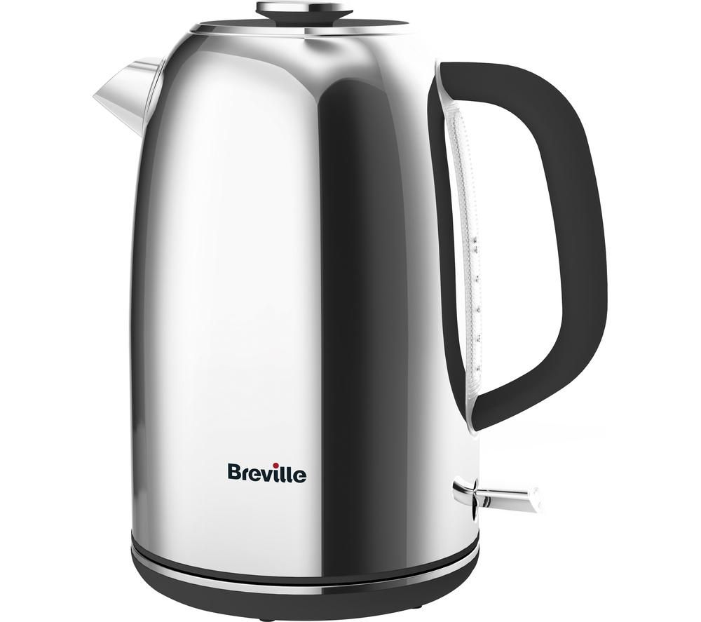 BREVILLE Colour Notes VKJ967 Jug Kettle – Polished Stainless Steel, Stainless Steel