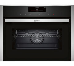 NEFF C18FT56N0B Compact Electric Steam Oven - Stainless Steel