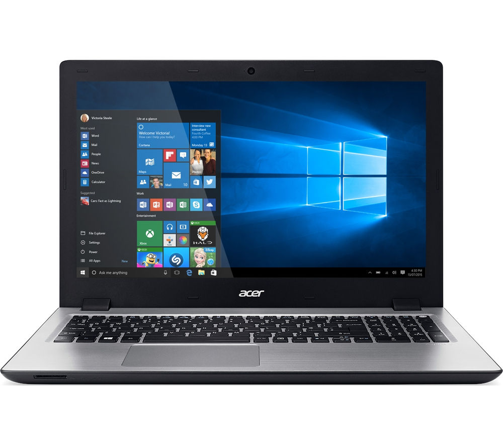 Acer Aspire V3574T 15.6 Touchscreen Laptop  Silver Silver