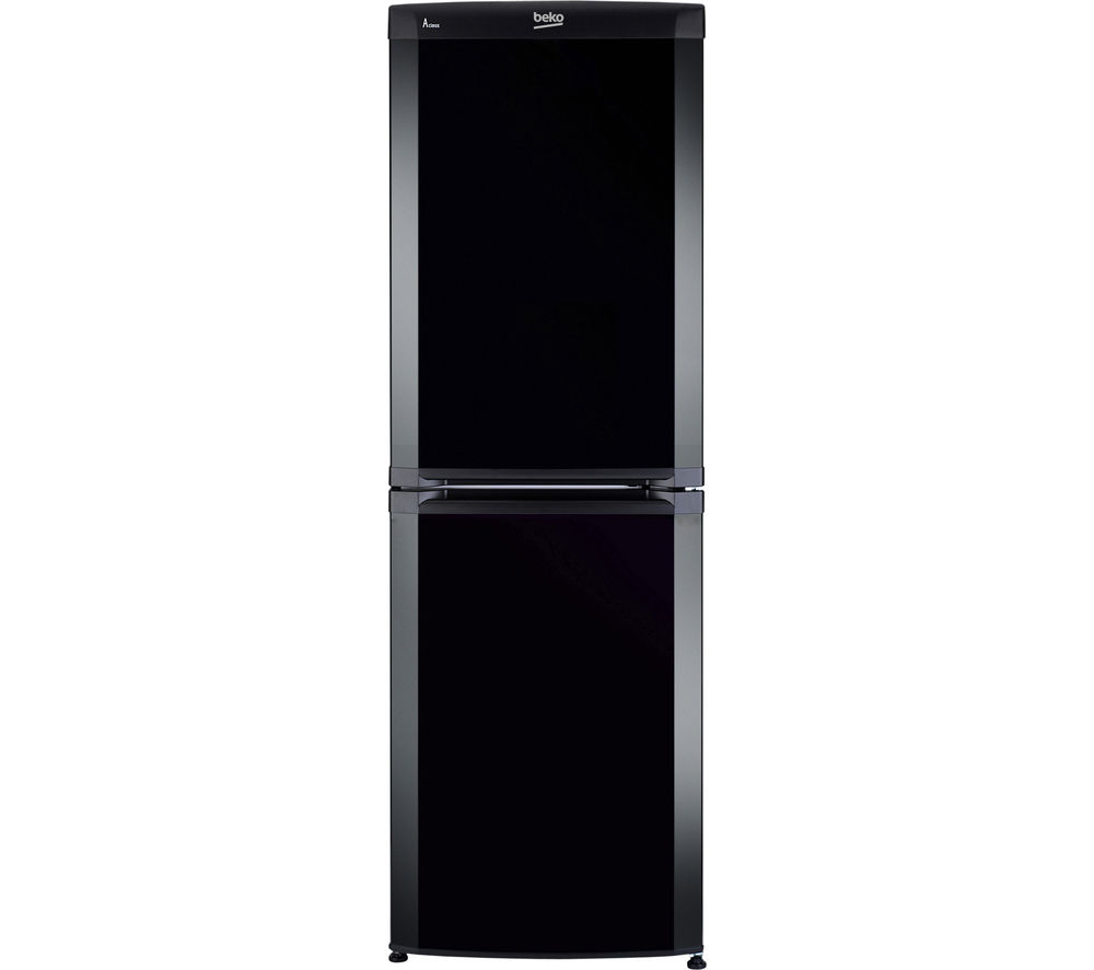 buy beko cs5824b 50 50 fridge freezer black free. Black Bedroom Furniture Sets. Home Design Ideas