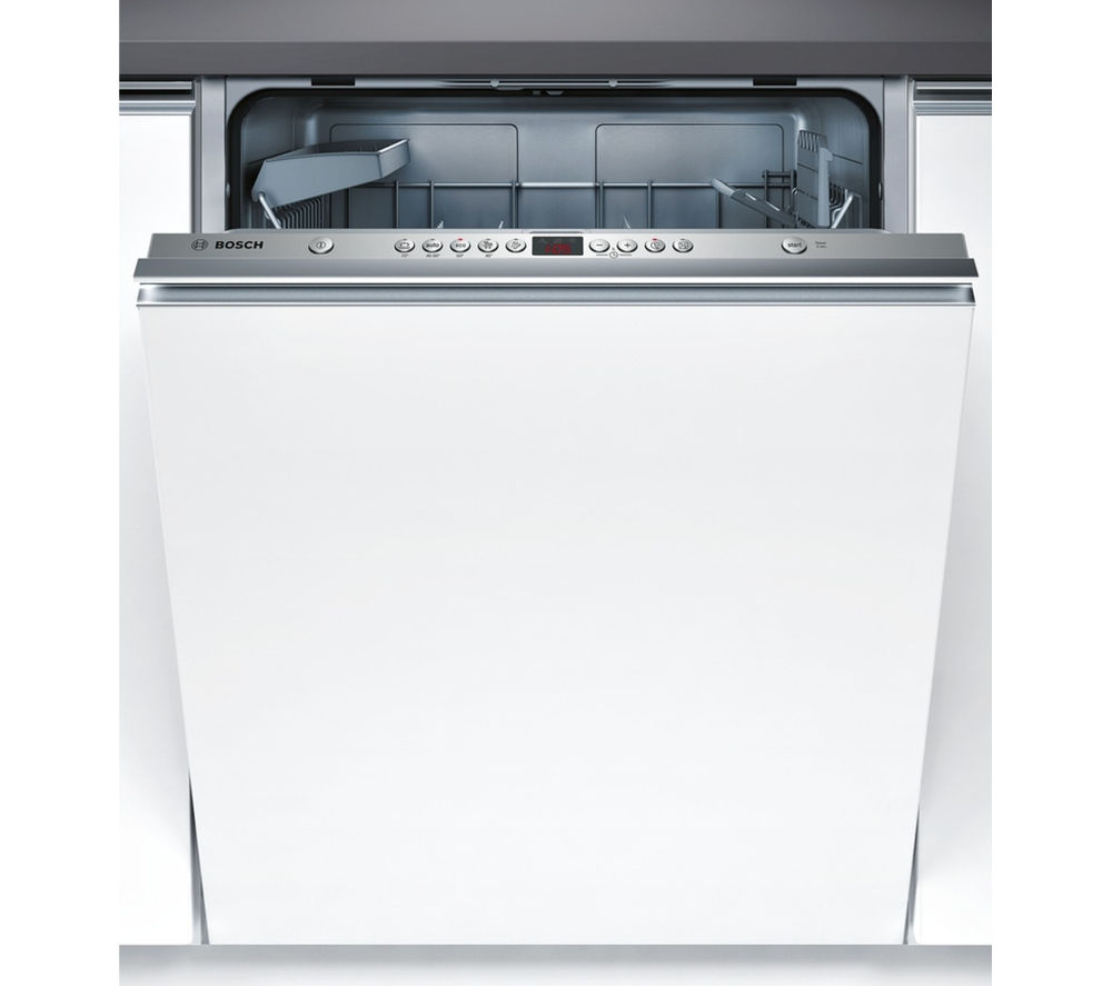 buy bosch smv53l00gb full size integrated dishwasher free delivery currys. Black Bedroom Furniture Sets. Home Design Ideas