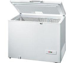 BOSCH GCM28AW30G Chest Freezer - White