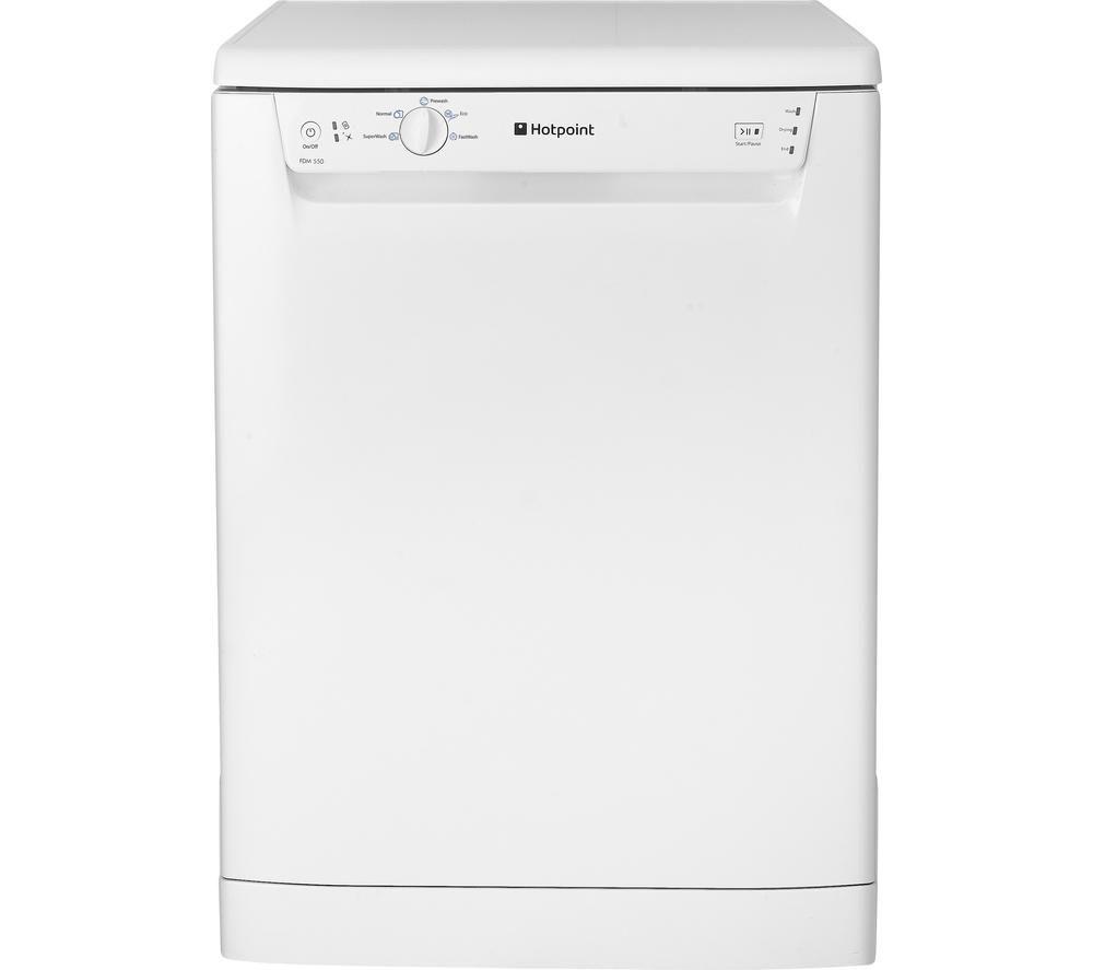 HOTPOINT HFED110P Full-size Dishwasher – White