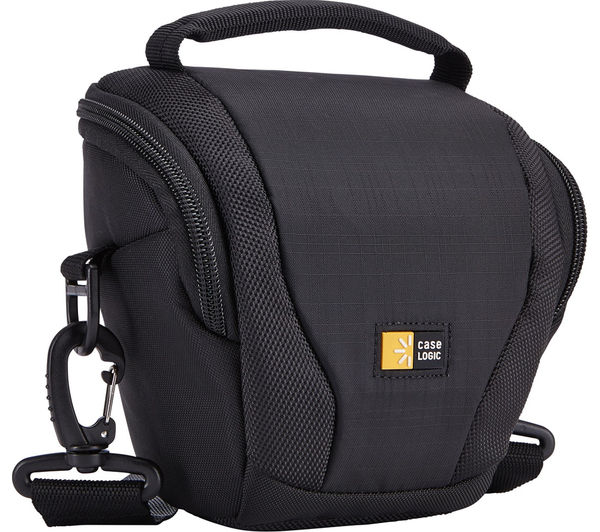 Image of CASE LOGIC DSH101 Luminosity Compact DSLR Holster Bag - Black