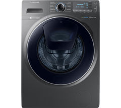 SAMSUNG AddWash WW90K7615OX Washing Machine - Graphite