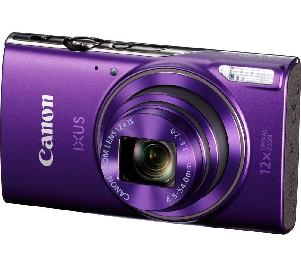 Image of CANON IXUS 285 HS Compact Camera - Purple, Purple