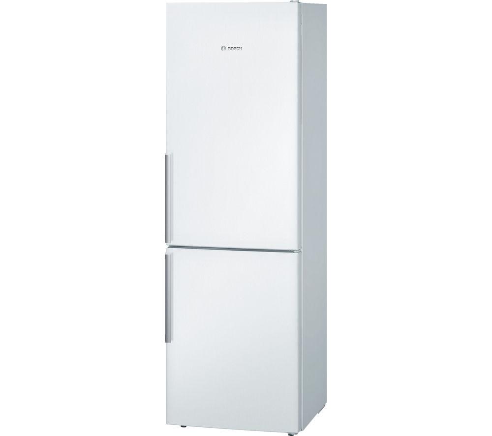 Image of BOSCH KGE36BW41G Fridge Freezer - White, White