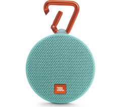 JBL Clip 2 Portable Wireless Speaker - Teal