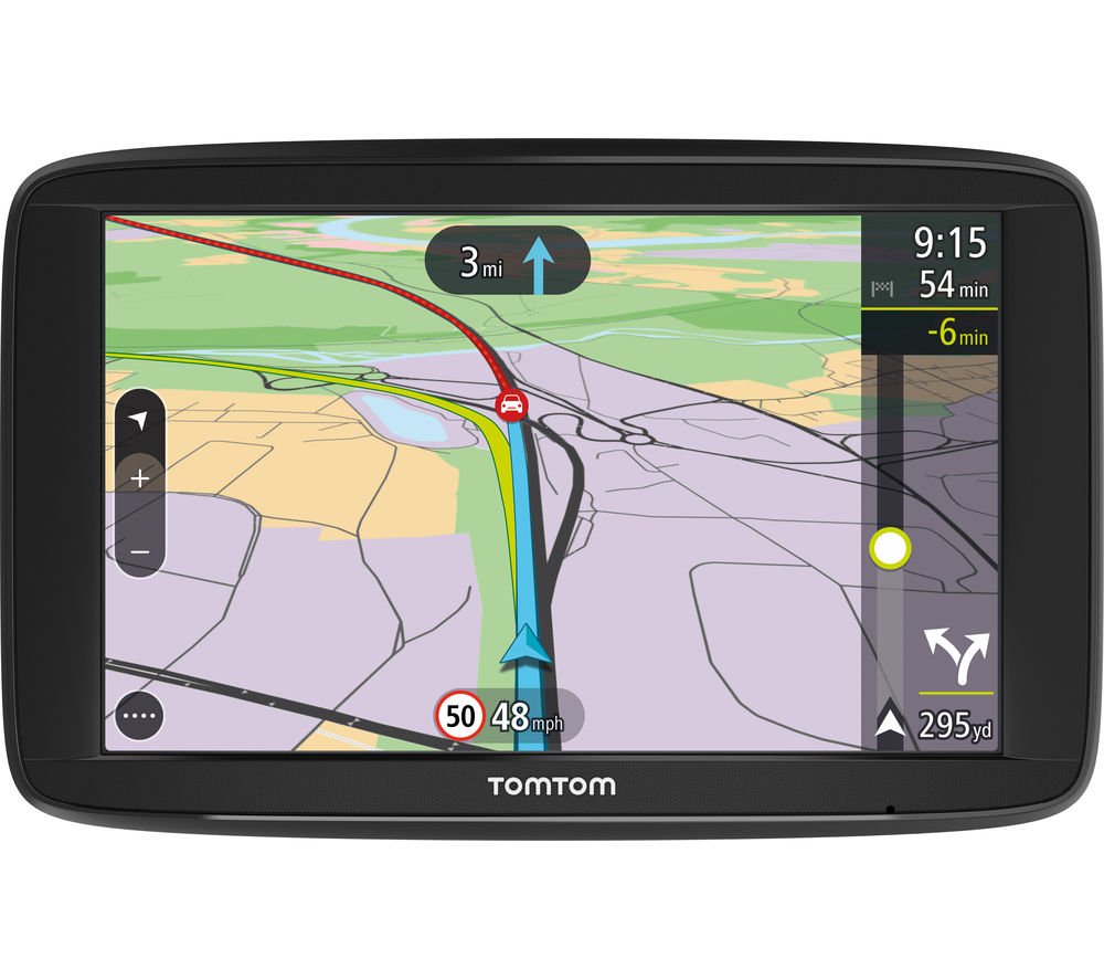 buy tomtom via 62 6 sat nav with uk roi western europe maps free delivery currys. Black Bedroom Furniture Sets. Home Design Ideas