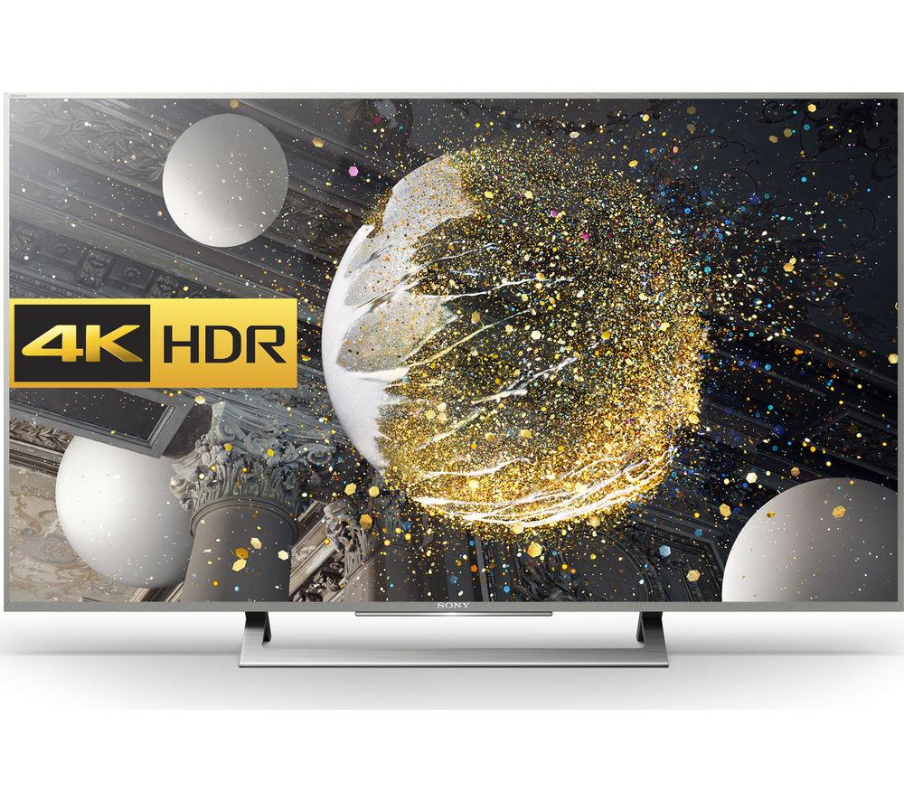"Sony KD43XD8077SU Smart 4K Ultra HD HDR 43"" LED TV"