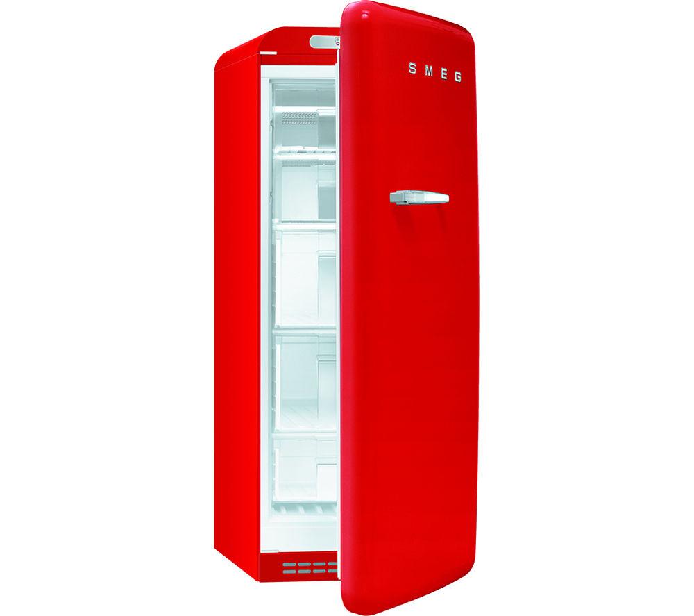 SMEG  CVB20RR1 Tall Freezer  Red Red