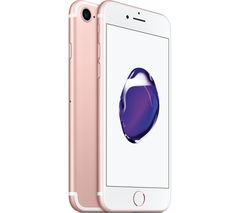 APPLE iPhone 7 - Rose Gold, 128 GB