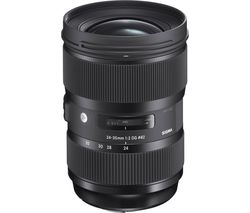 SIGMA 24-35 mm f/2 DG HSM Art Wide-angle Zoom Lens - for Canon
