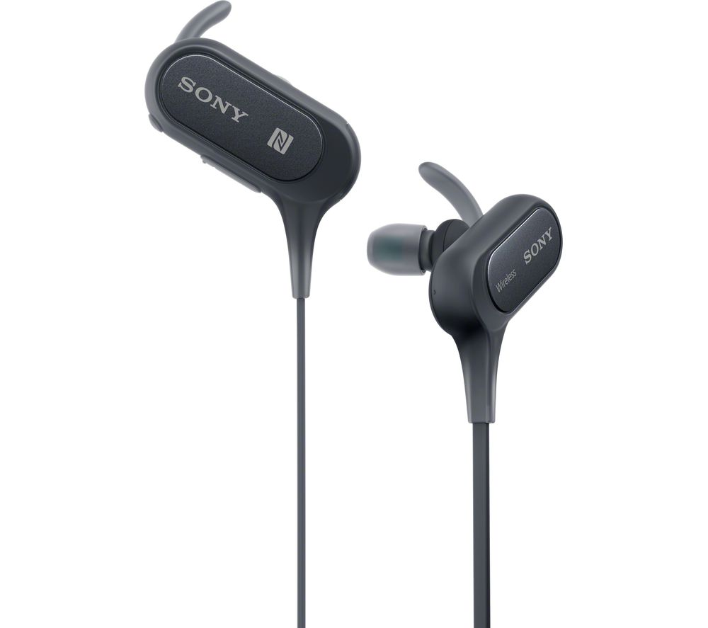 Click to view more of SONY  MDR-XB50BS Wireless Bluetooth Headphones - Black, Black
