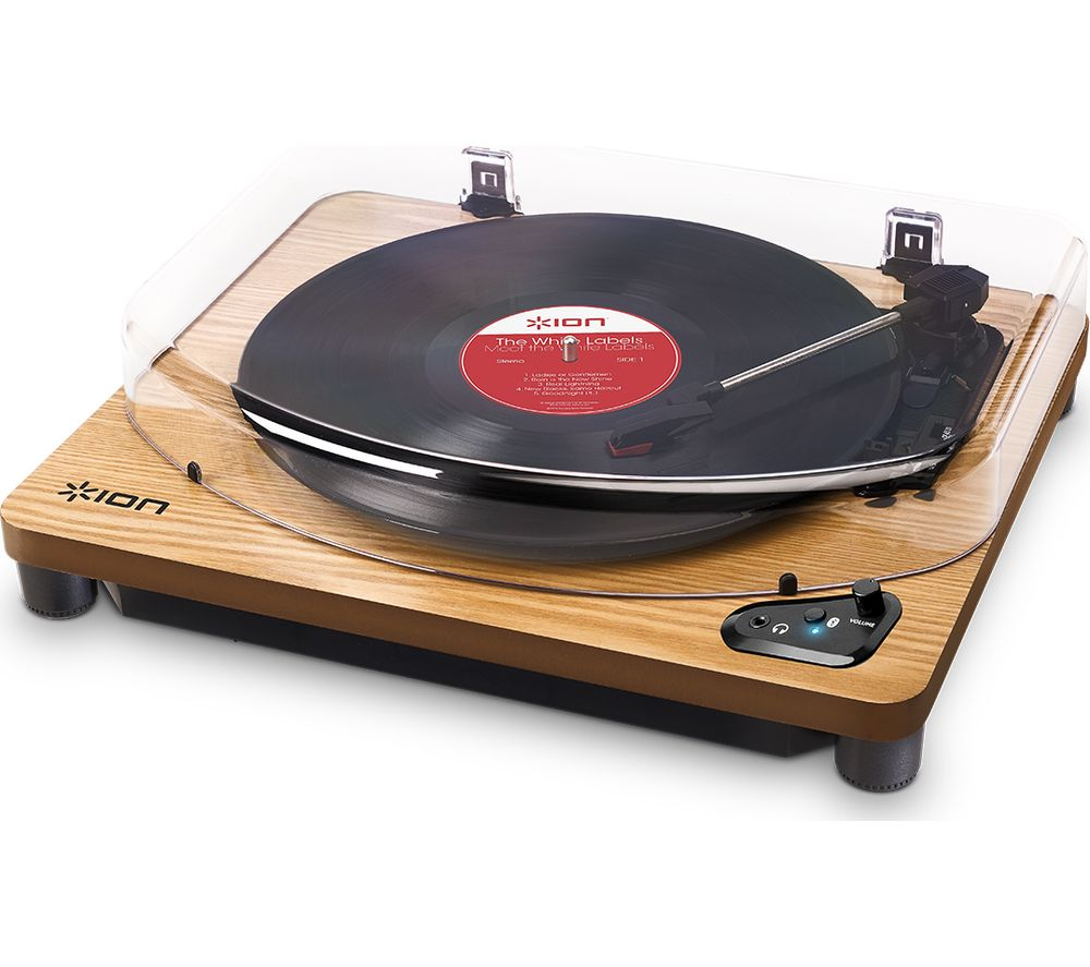 Click to view more of ION  Air LP Wireless Turntable - Wood